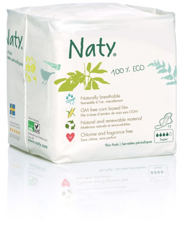 Eco Bio Sanitary Towels Extra Normal Plus - 13 pcs