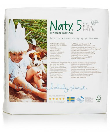 Eco Nappies Size 5 (11-25 KG) 23 pcs